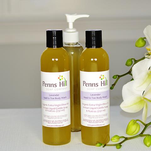 organic essential oil of lavender