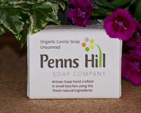 scent-free organic castile soap