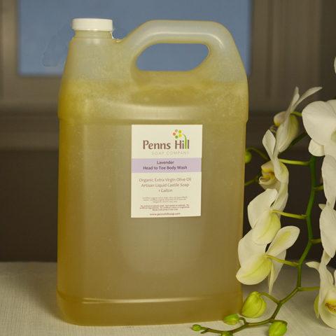 Lavender Organic Castile Olive Oil Liquid Soap