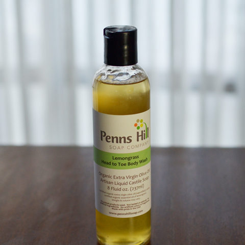 lemongrass organic liquid castile soap
